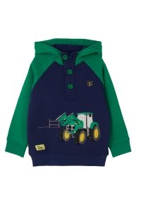 Lighthouse Jack Hoodie – Green Tractor & Frontloader