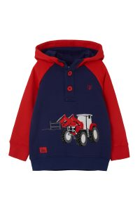 Lighthouse Jack Hoodie – Red Tractor & Frontloader