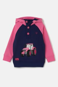Lighthouse Jill Hoodie – Pink Tractor