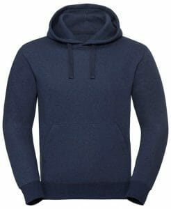 Russell Authentic melange hooded sweatshirt